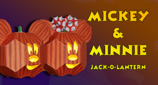 Mickey and Minnie Jackolantern prev